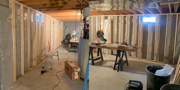Basement Renovation, Erie, PA, General Contractor