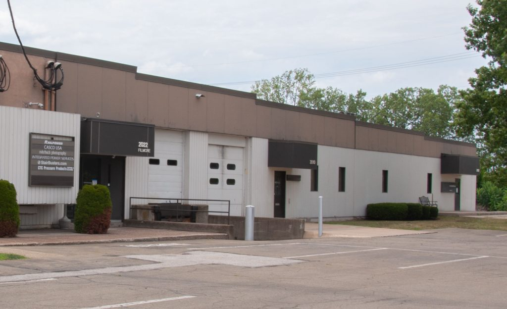 EBCO warehouse for rent in erie, pa